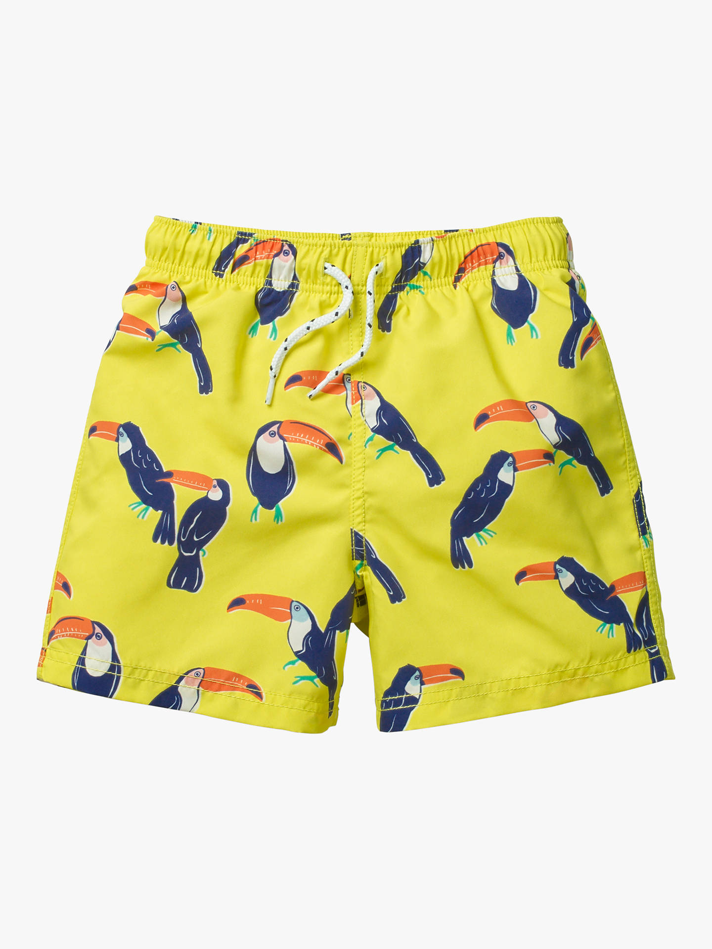 ed1829a4a4625 ... Buy Mini Boden Boys' Bathers Swimming Shorts, Yellow Toucans, 2-3 years  ...