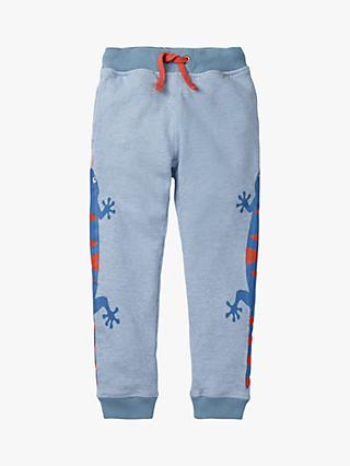 Mini Boden Boys' Joggers, Blueberry Lizards