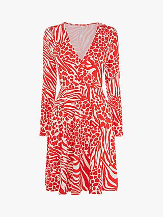 27112272759 Karen Millen Animal Print Mini Dress