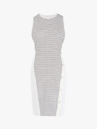 3ac70a24f5 Karen Millen Striped Bodycon Dress, White/Multi