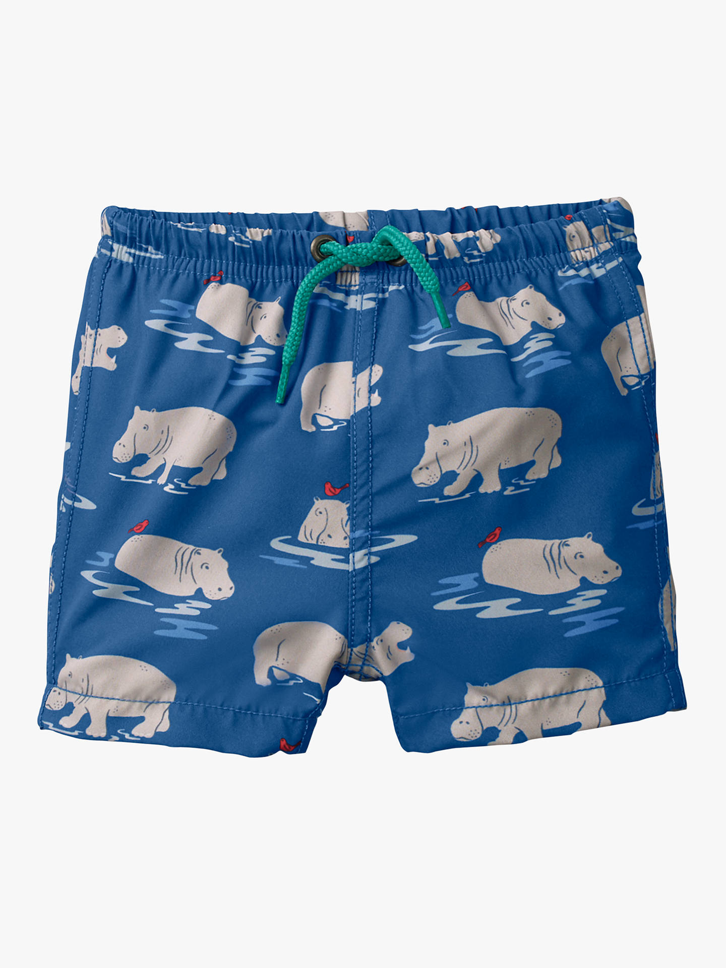 7a3d4cb43b Buy Mini Boden Baby Swimming Trunks, Lake Blue, 3-6 months Online at ...