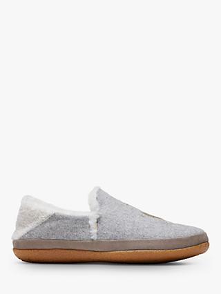 TOMS India Slippers, Grey Mid