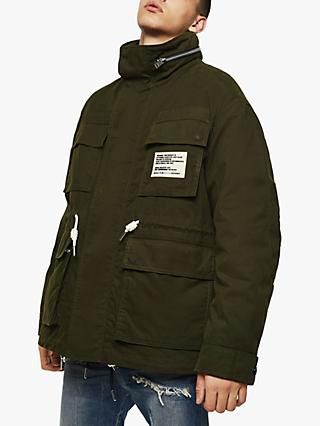 Diesel J-Touchin Field Jacket, Green