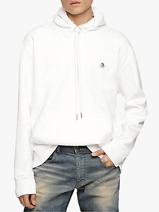 Diesel S-After Hoodie, White