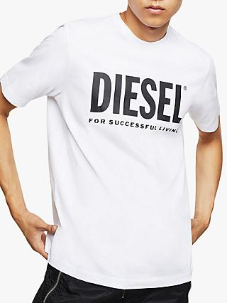 Diesel T-Just Logo T-Shirt, White