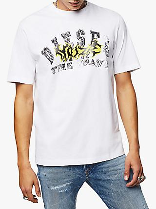 Diesel T-Just Hare Graphic T-Shirt, White