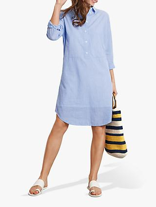 013dddb5288 hush Valletta Striped Shirt Dress