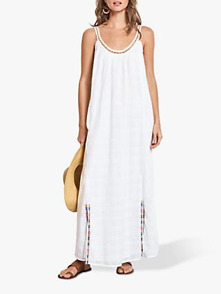 hush Kelsey Embroidered Dress, White/Multi