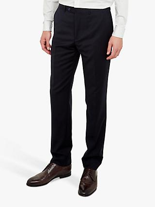 Ted Performance Wool Suit Trousers, Navy