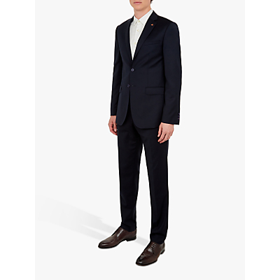 Ted Baker Performance Wool Tailored Suit Jacket, Navy