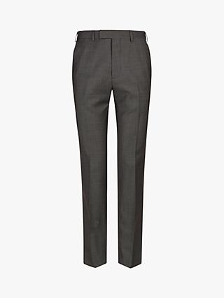Ted Baker Bevlee Birdseye Wool Suit Trousers, Charcoal