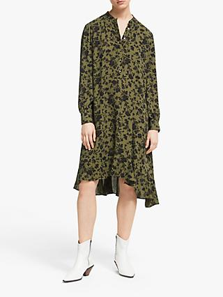 AND/OR Fifi Marakesh Floral Dress, Khaki/Black