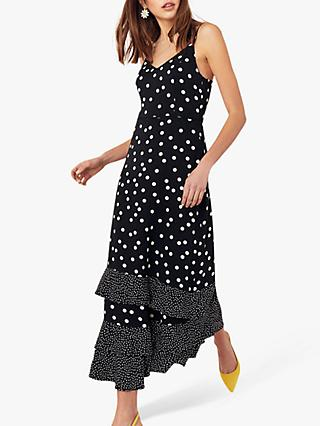 19b78ca1fd9 Oasis Spot Tier Maxi Dress
