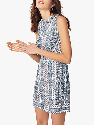 Oasis Paisley Shift Dress, Multi