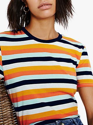 ae4619f5fe Warehouse Colourful Stripe T-Shirt