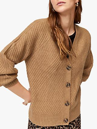 8c6e7858923 Warehouse Balloon Sleeve Cardigan