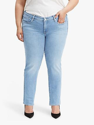 Levi's Plus 314 Shaping Straight Jeans, Berlin Dream District