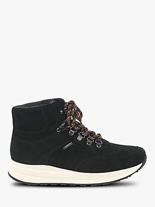 Gabor Grecian Nubuck Weatherproof Ankle Boots, Black