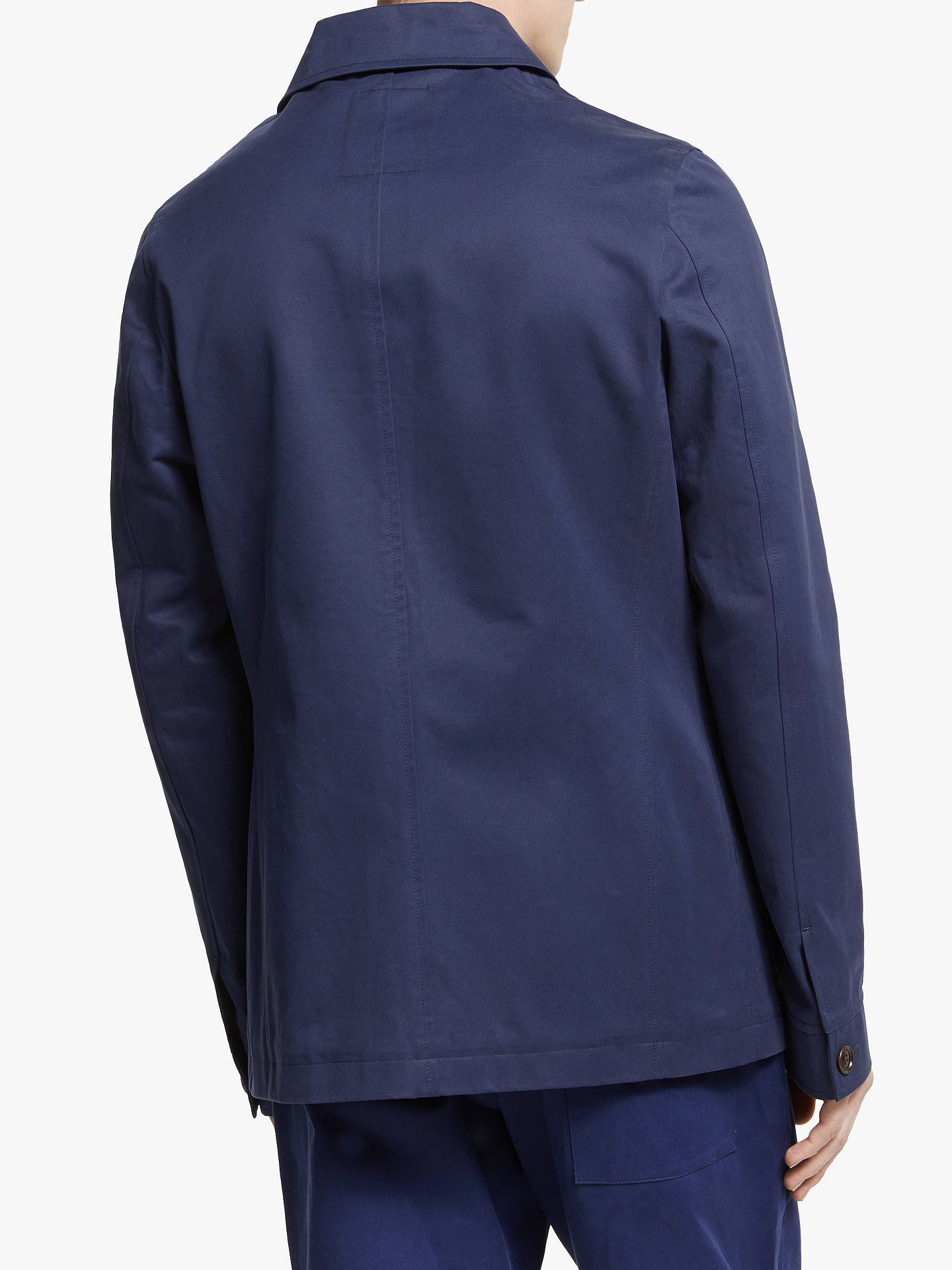 Buy Wax London Elland Jacket, Navy Tennyson, M Online at johnlewis.com