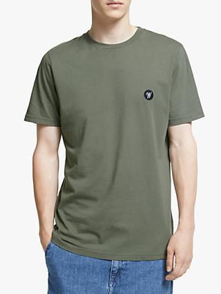 Wax London Reid Badge Logo T-Shirt