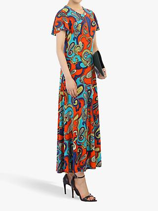 4f3ef0cfea Jolie Moi Printed Cap Sleeve Dress