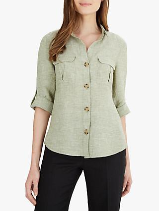 84f03ac1 100% Linen | Women's Shirts & Tops | John Lewis & Partners