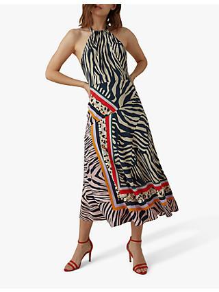 a2daa4a9b5a Karen Millen Zebra Scarf Dress