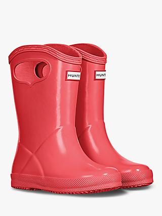 Hunter Children's First Original Wellington Boots, Rhythmic