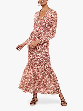 2d445f86e20 Mint Velvet Molly Print Boho Maxi Dress