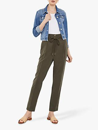 e8a8287b938 Mint Velvet Rope Belted Trousers