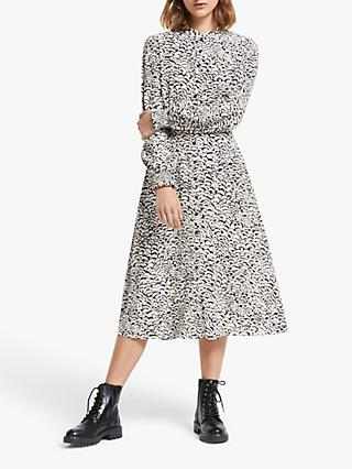 Somerset by Alice Temperley Feather Shirt Dress, Neutral
