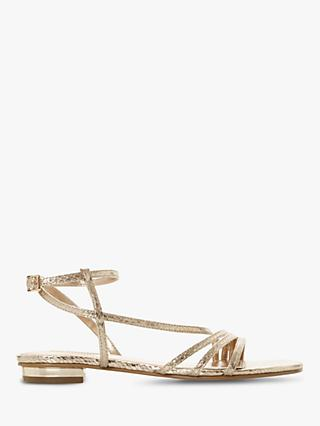 7167e19f804b Dune Wide Fit Nissey Strappy Sandals