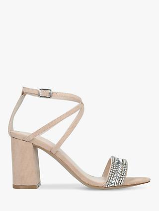 148c7ba65f80 Carvela Gita Suede Embellished Block Heel Sandals