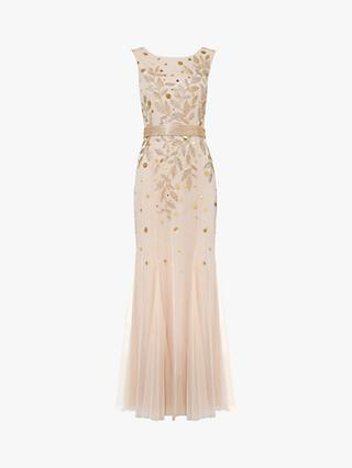 Phase Eight Florence Beaded Dress, Cosmetic