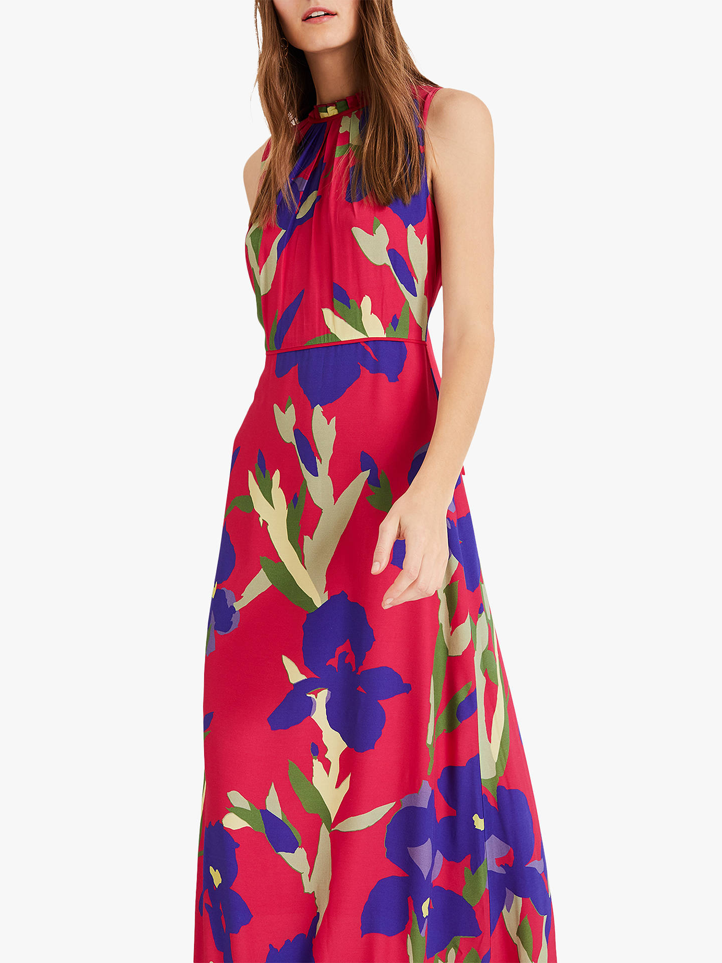 a5d40316968bc ... Buy Phase Eight Silvana Maxi Dress, Hot Pink, 6 Online at johnlewis.com  ...