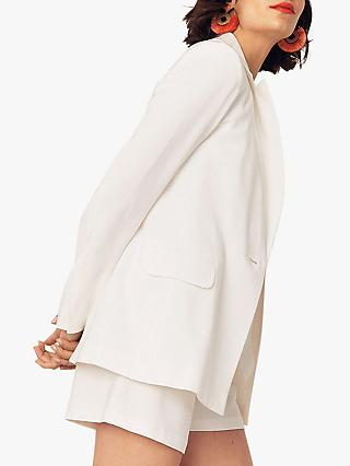 Oasis Suit Jacket, Off White