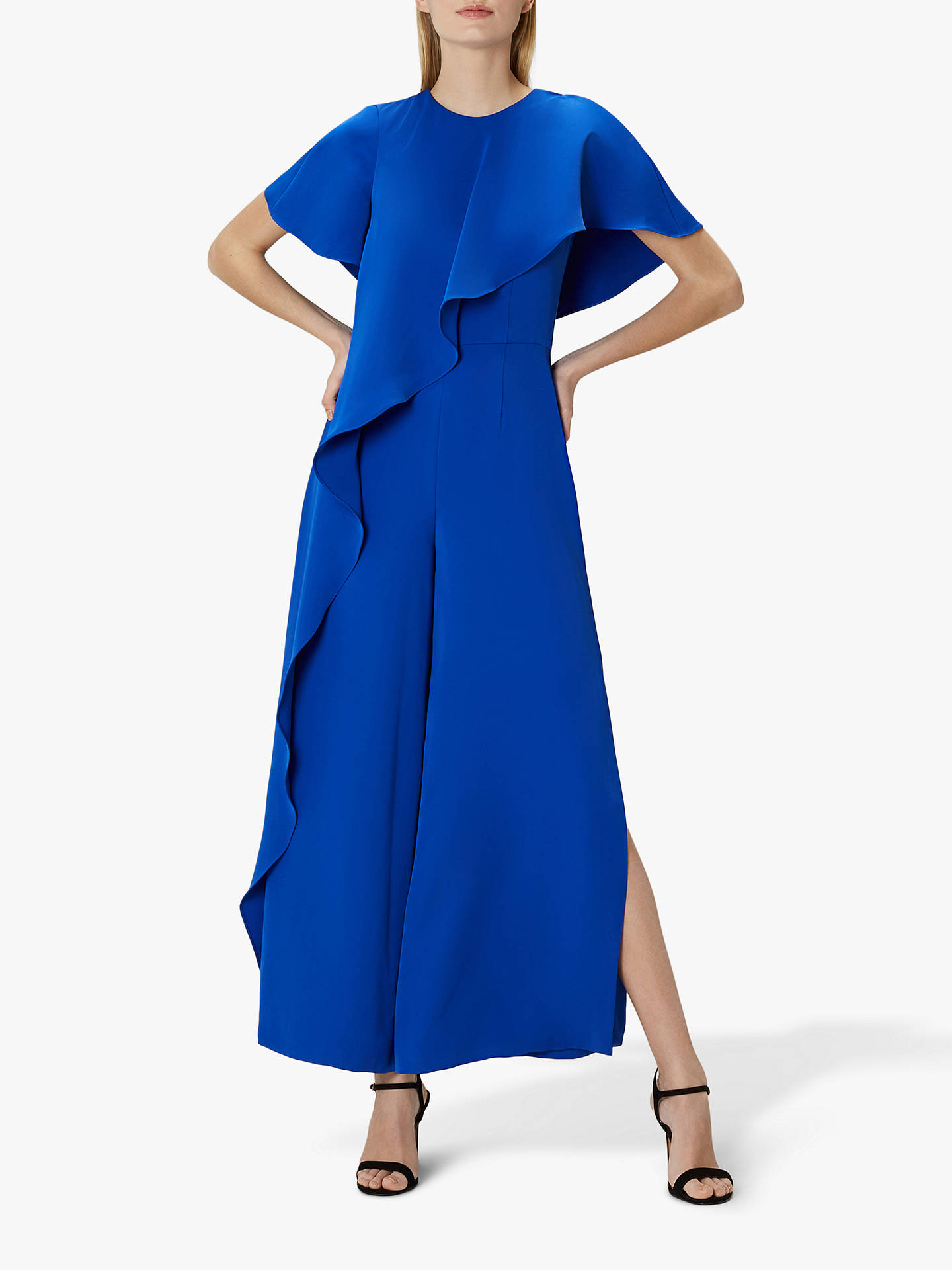 classic style find lowest price durable in use Coast Kara Jumpsuit, Cobalt Blue at John Lewis & Partners