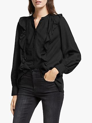 AND/OR Rita Ruffle Blouse