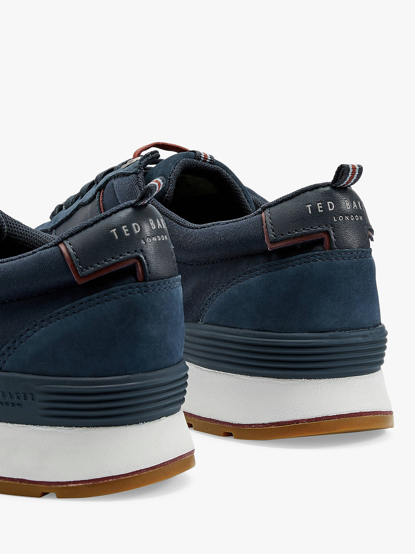 Ted Baker Lhennis Leather Trainers at John Lewis & Partners