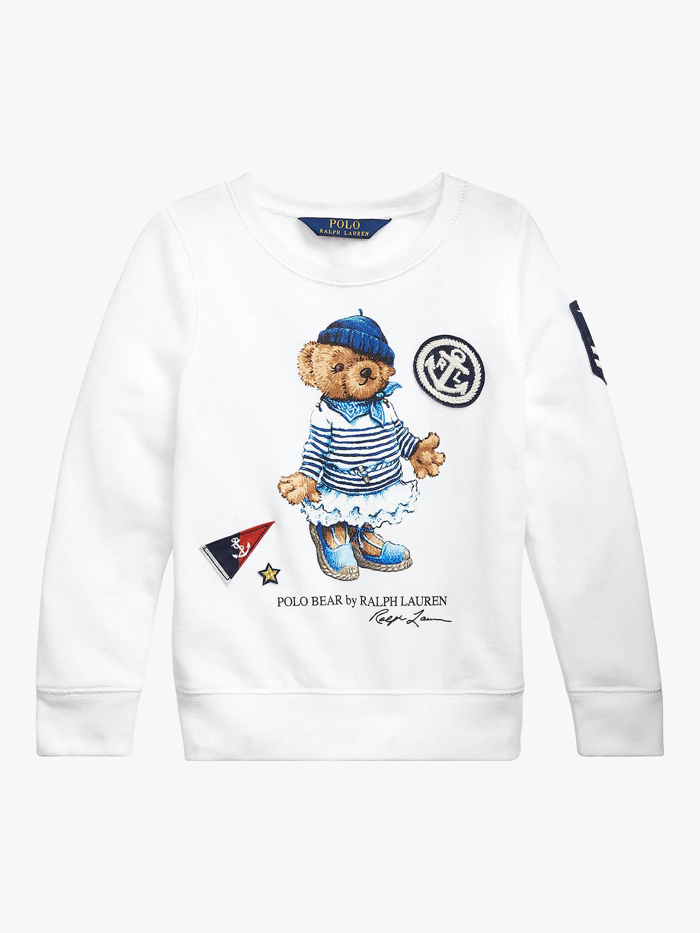 246fc94b8 Buy Polo Ralph Lauren Girls  Bear Sweatshirt