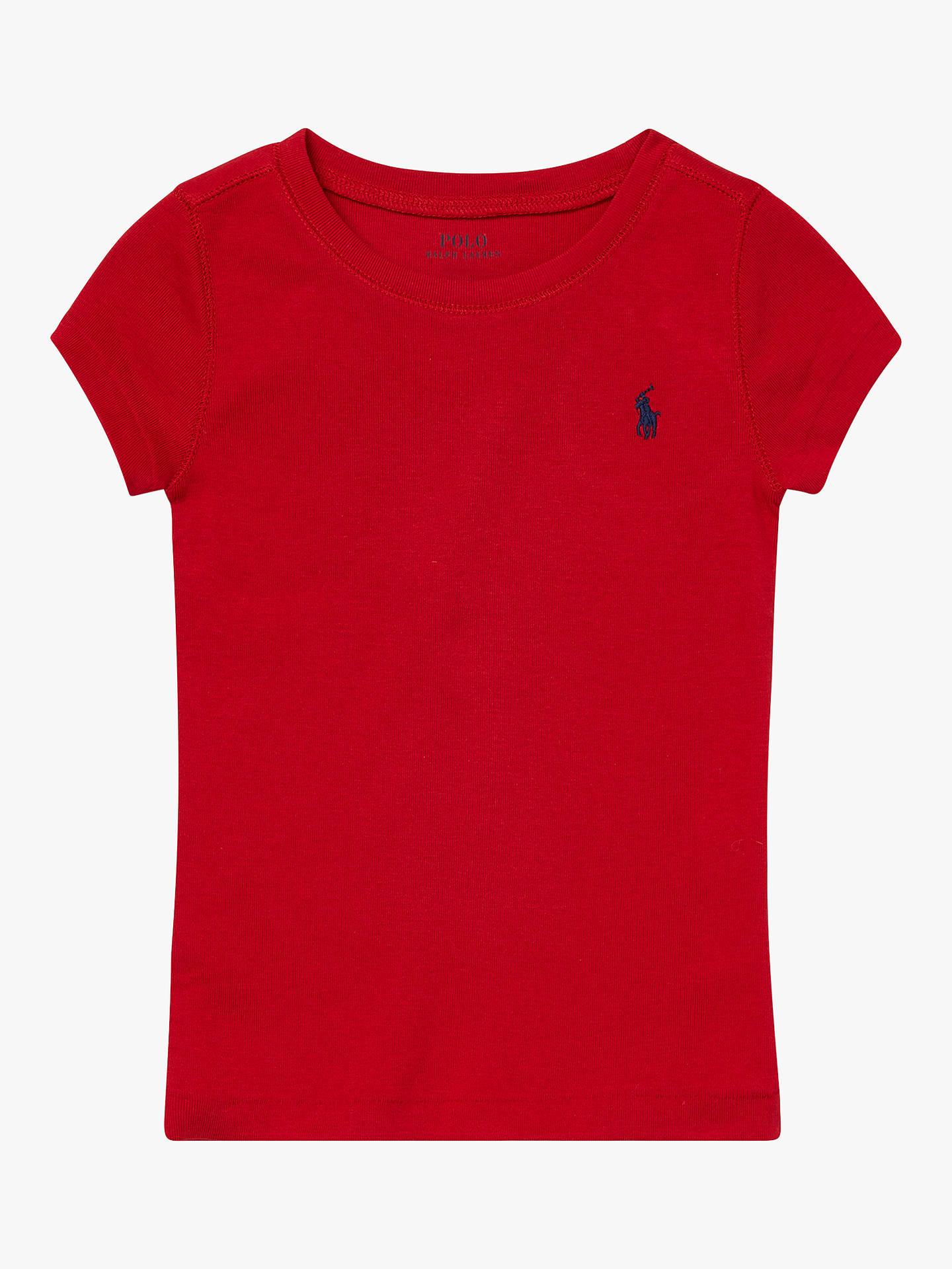6 RALPH LAUREN Polo Girls Oxford Short Sleeve Shirt