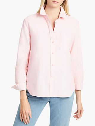 French Connection Rossa Oxford Shirt, Sanna Pink