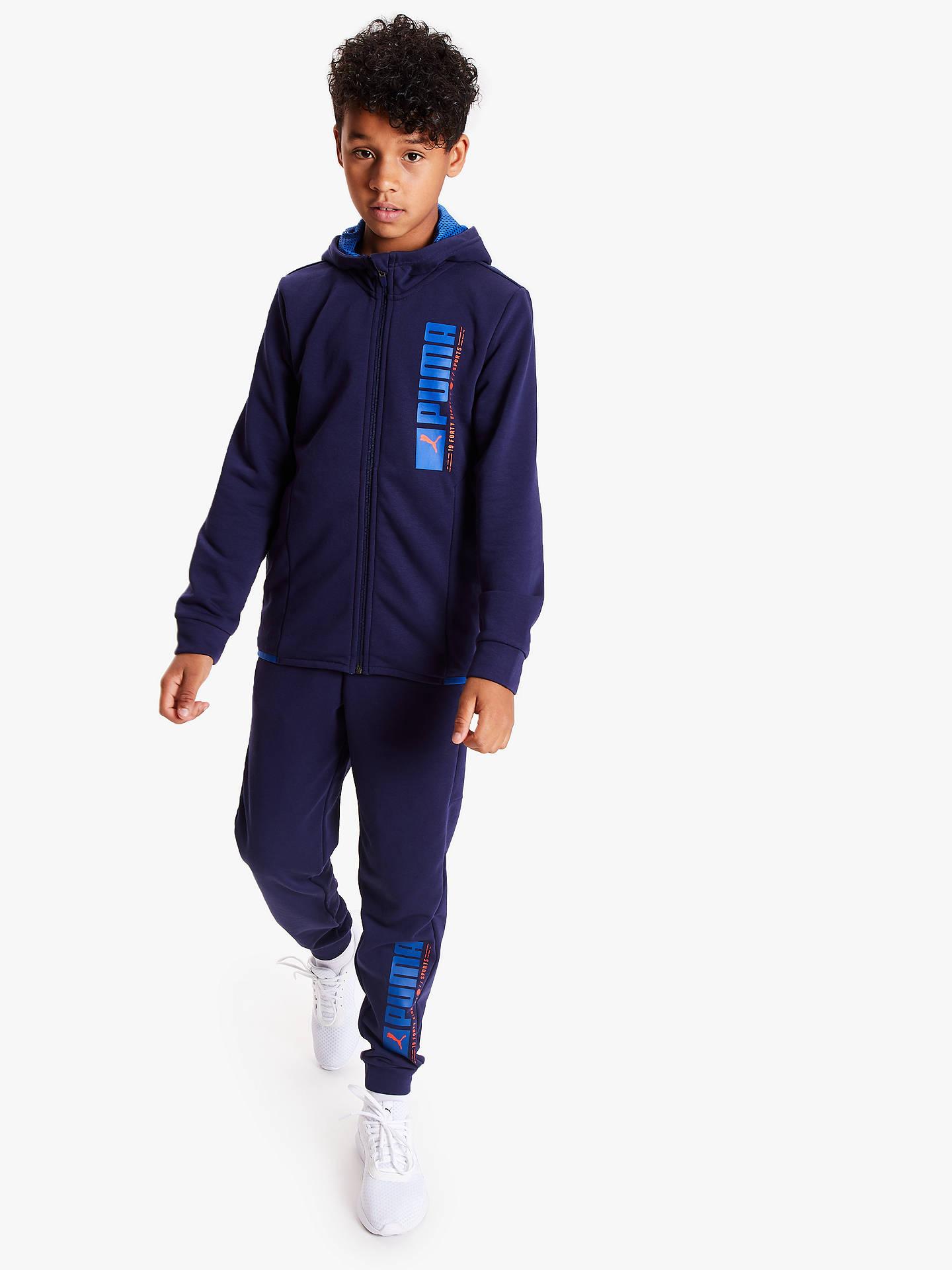 PUMA Boys Active Hoodie Sports & Outdoors Hoodies & Sweatshirts