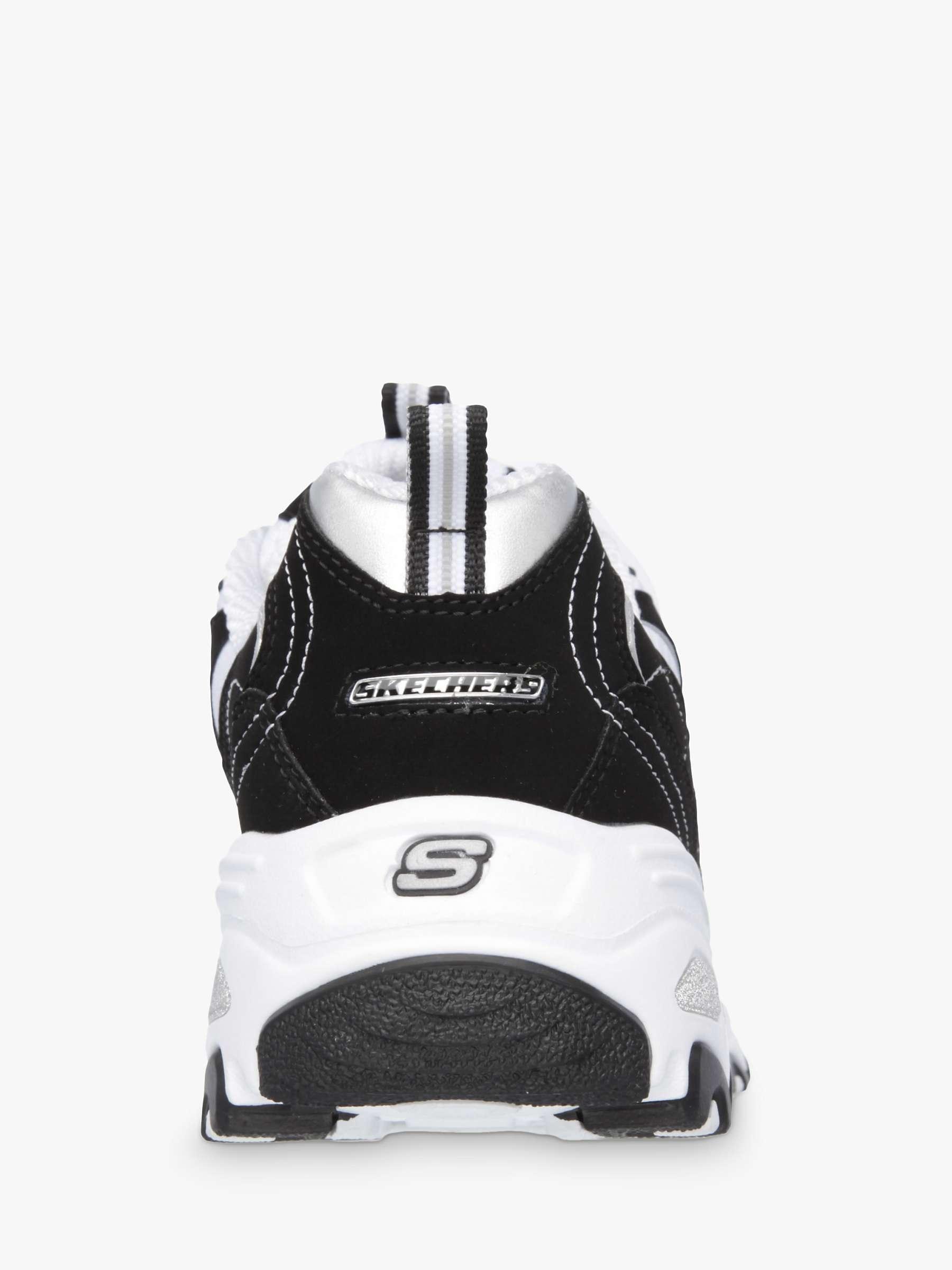 Skechers D Lites Trainers Black White Black White At