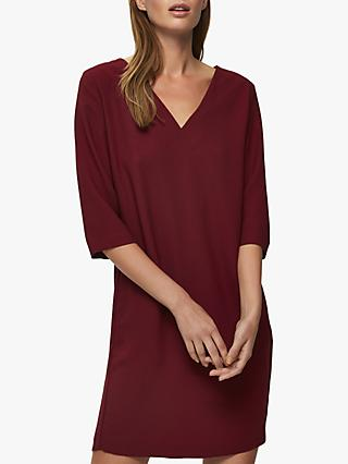 Selected Femme Tunni Shift Dress, Cabernet