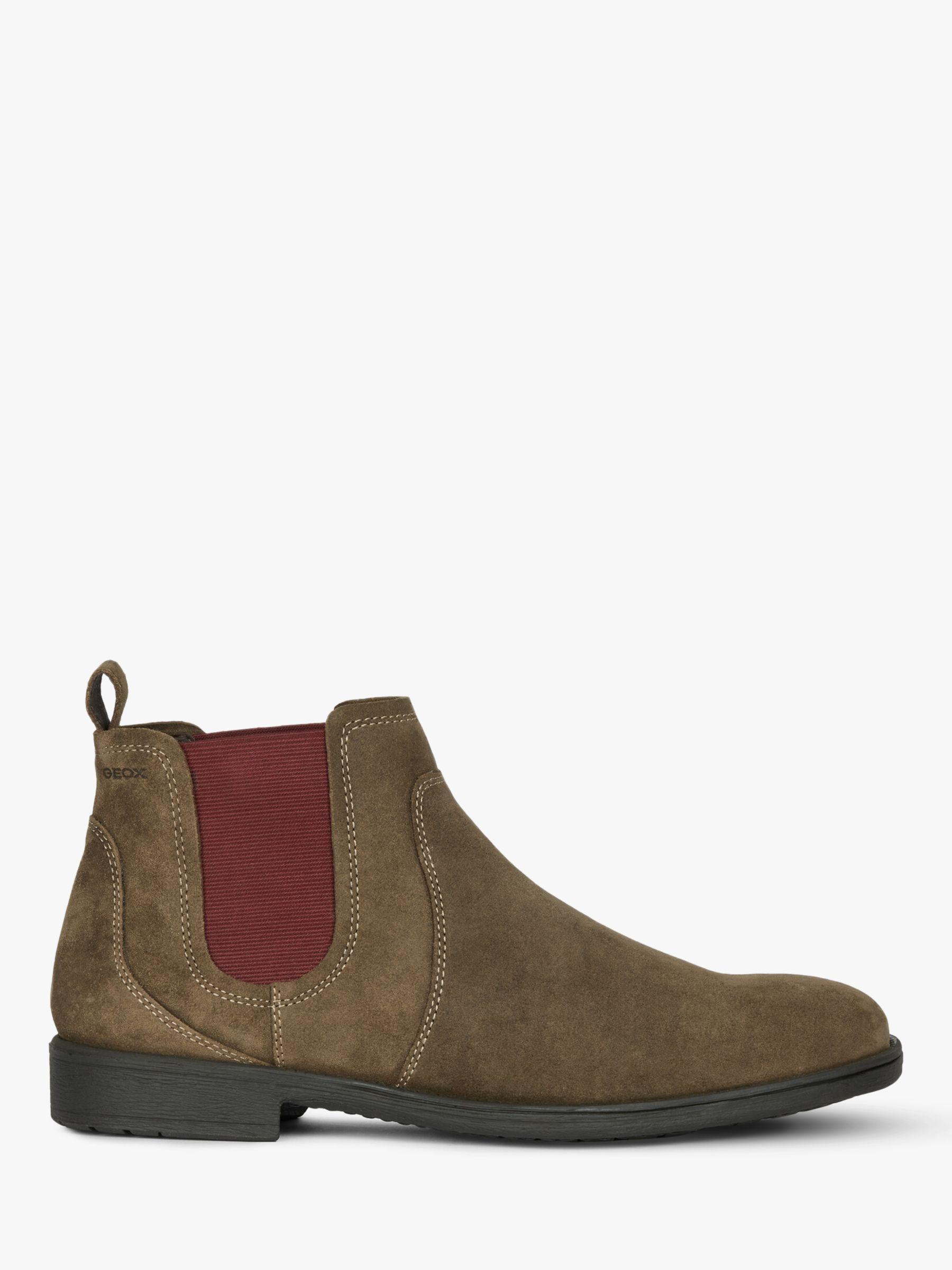 Geox Geox Jaylon Suede Chelsea Boots, Multi Brown