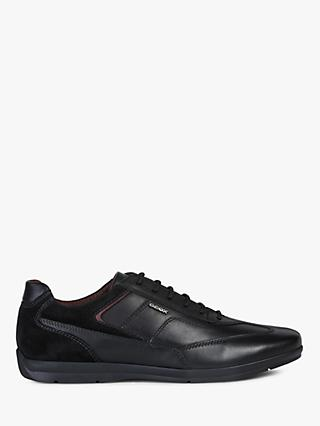 Geox Adrien Leather Trainers