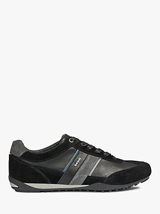 Geox Wells Leather Trainers