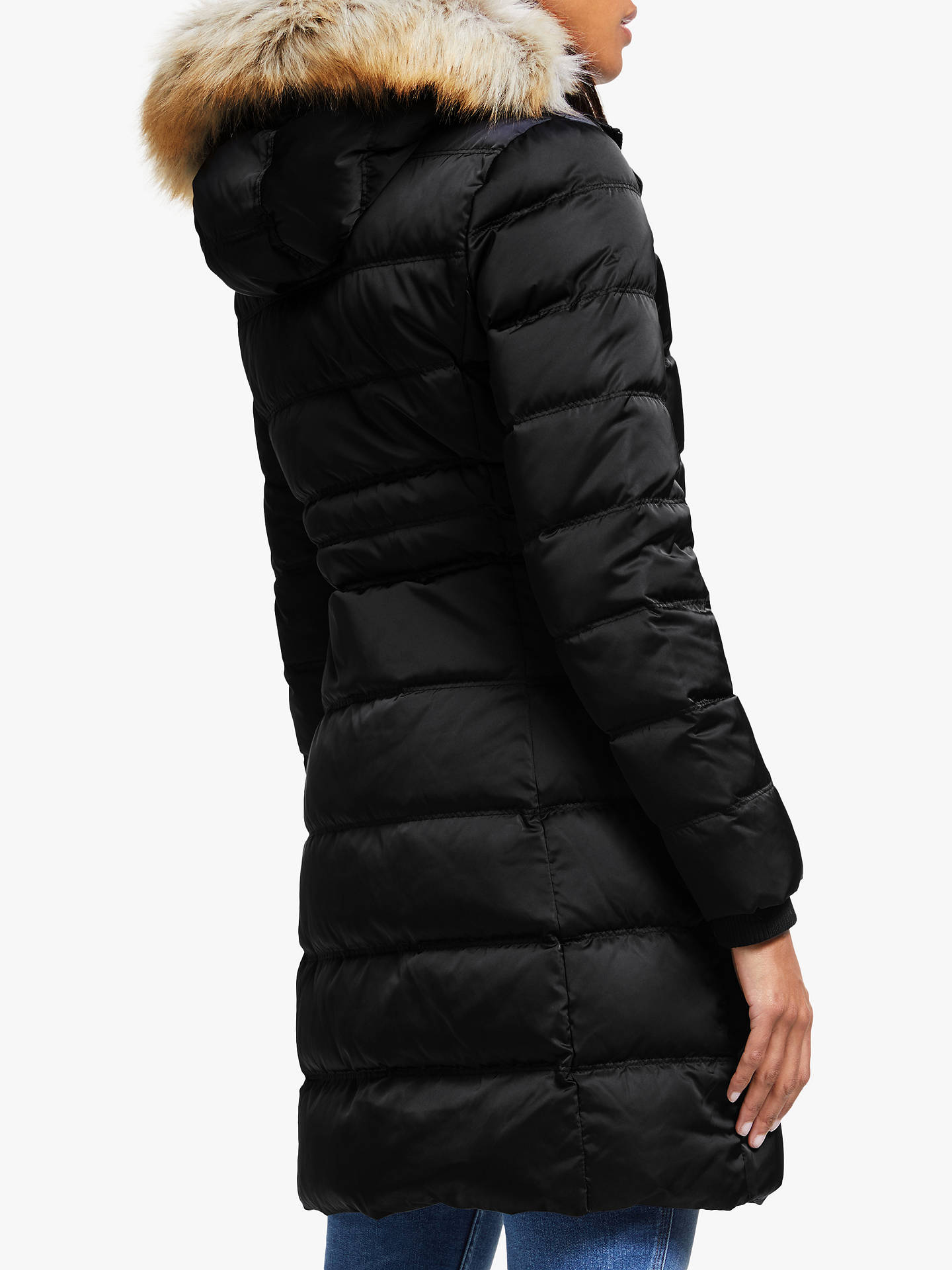 Calvin Klein Jeans Hooded Long Down