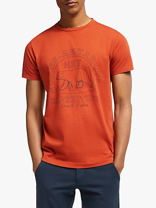 HKT Expedition Graphic T-Shirt, Orange